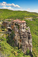 Varlaam Monastery in the Meteora Monastery complex in Greece.