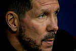 Head coach Diego Simeone of Atletico de Madrid looks on prior to the La Liga 2018-19 match between Atletico de Madrid and RCD Espanyol at Wanda Metropolitano on December 22 2018 in Madrid, Spain. Photo by Diego Souto / Power Sport Images