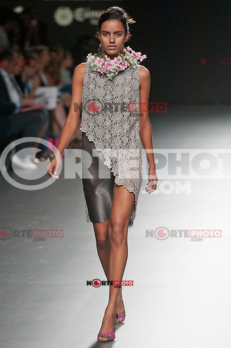 Cibeles catwalk with fashion show of Devota &amp; Lomba on Agost 31th 2012...Photo:  (ALTERPHOTOS/Ricky) NortePhoto.com<br /> <br /> **CREDITO*OBLIGATORIO** <br /> *No*Venta*A*Terceros*<br /> *No*Sale*So*third*<br /> *** No*Se*Permite*Hacer*Archivo**<br /> *No*Sale*So*third