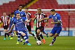 Harry Chapman of Sheffield Utd burst through during the U23 Professional Development League match at Bramall Lane Stadium, Sheffield. Picture date: September 6th, 2016. Pic Simon Bellis/Sportimage