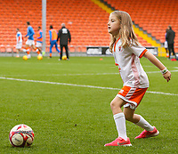 One of the Blackpool mascots kicks a ball before the match<br /> <br /> Photographer Alex Dodd/CameraSport<br /> <br /> The EFL Sky Bet League One - Blackpool v Portsmouth - Saturday 11th November 2017 - Bloomfield Road - Blackpool<br /> <br /> World Copyright &copy; 2017 CameraSport. All rights reserved. 43 Linden Ave. Countesthorpe. Leicester. England. LE8 5PG - Tel: +44 (0) 116 277 4147 - admin@camerasport.com - www.camerasport.com