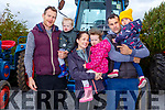 Liam, George, Sharon and Anna Poff, Sean and Ailise Hayes from Blennerville enjoying the Threshing Festival in Blennerville on Sunday