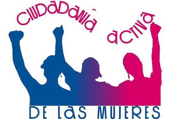 Logo de Ciudadanía Activa de las Mujeres de la Colectiva Mujer y Salud. FE