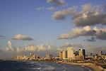 Israel, Tel Aviv coastline