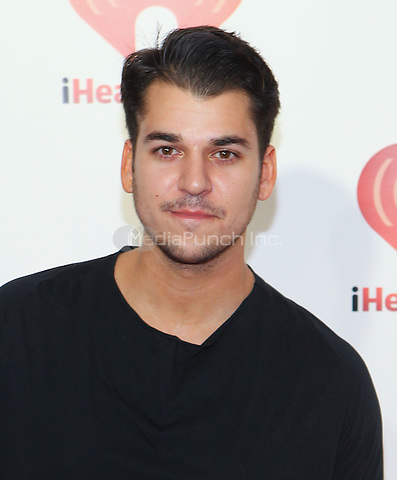 Rob Kardashian pictured at iHeart Radio music festival at MGM Grand Resort in Las Vegas, NV on September 24, 2011. Erik Kabik / MediaPunch.