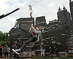 Gotham Zip Line At Comic-Con