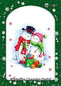 Roger, CHRISTMAS SANTA, SNOWMAN, WEIHNACHTSMÄNNER, SCHNEEMÄNNER, PAPÁ NOEL, MUÑECOS DE NIEVE, paintings+++++,GBRM19-0092,#x#