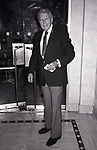 Ralph Bellamy at his Hotel on January 17, 1983 in New York City.