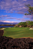 Mauna Lani South, No. 7, Big Island, Hawaii.  Architect: Nelson and Haworth