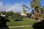 Desert Braemar rainbow