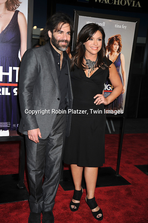 "Rachael Ray and husband John Cusimano arriving at The Premiere of ""Date Night on April 6, 2010 at the Ziegfeld Theatre in New York City. The movie stars Tina Fey, Steve Carell, Taraji P Henson, Common, and Leighton Meester."