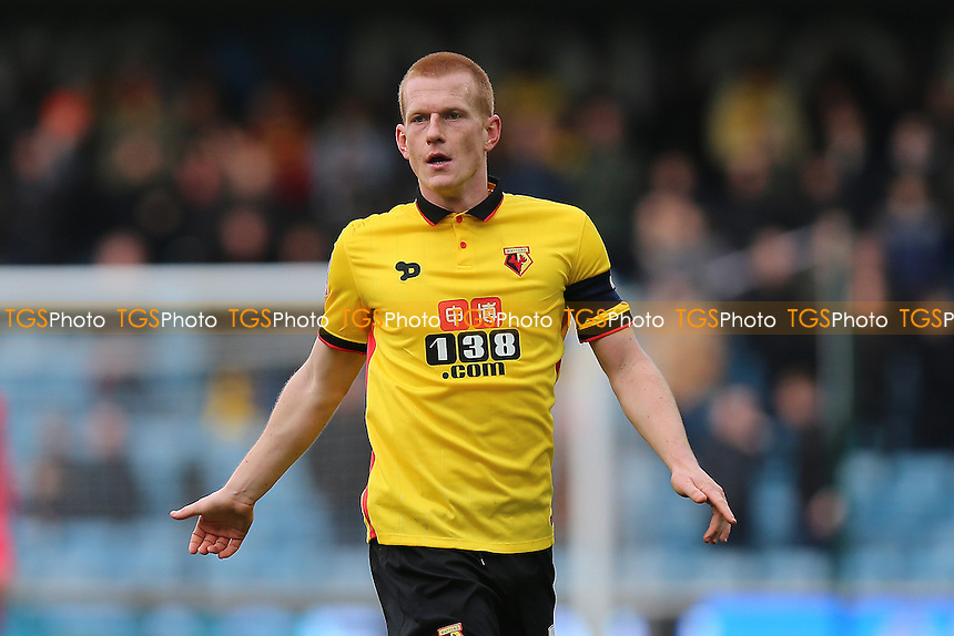 Ben Watson of Watford during Millwall vs Watford, Emirates FA Cup Football at The Den on 29th January 2017
