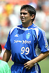 31 August 2004: Jaime Moreno. The MLS Eastern Conference All Stars defeated the MLS Western Conference All Stars 3-2 at RFK Stadium in Washington, DC in the Major League Soccer Sierra Mist All-Star Game..