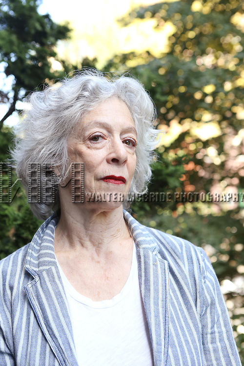 Martha Clarke photo shoot at her apartment in Greenwich Village on September 15, 2014 in New York City.
