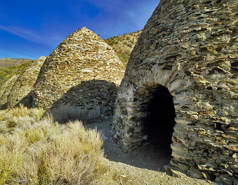 Charcol Kilns. Death Valley National Park, California