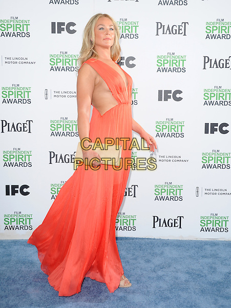 Elisabeth Rohm attends The 2014 Film Independent Spirit Awards held at Santa Monica Beach in Santa Monica, California on March 01,2014                                                                                <br /> CAP/DVS<br /> &copy;Debbie VanStory/Capital Pictures