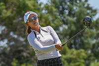 Jenny Shin (KOR) watches her tee shot on 3 during round 2 of  the Volunteers of America LPGA Texas Classic, at the Old American Golf Club in The Colony, Texas, USA. 5/6/2018.<br /> Picture: Golffile | Ken Murray<br /> <br /> <br /> All photo usage must carry mandatory copyright credit (&copy; Golffile | Ken Murray)