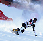 10.03.2012, La Molina, Spain. LG Snowboard FIS Wolrd Cup 2011-2012. Men's parallel giant slalom. Picture show Philipp Schoch SUI