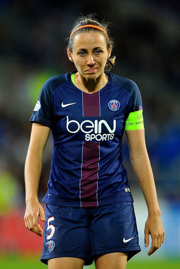 Paris Saint-Germain's Sabrina Delannoy <br /> <br /> Photographer Ashley Crowden/CameraSport<br /> <br /> UEFA Women's Champions League Final - Lyon Women v Paris Saint-Germain Women - Thursday 1st June 2017 - Cardiff City Stadium<br />  <br /> World Copyright &copy; 2017 CameraSport. All rights reserved. 43 Linden Ave. Countesthorpe. Leicester. England. LE8 5PG - Tel: +44 (0) 116 277 4147 - admin@camerasport.com - www.camerasport.com
