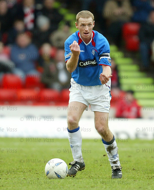 Craig Moore, Rangers.Stock Season 2003-2004.pic willie vass