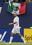 10 June 2007: Mexico's Jose Francisco Kikin Fonseca. The Honduras Men's National Team defeated the National Team of Mexico 2-1 at Giants Stadium in East Rutherford, New Jersey in a first round game in the 2007 CONCACAF Gold Cup.