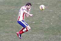 Atletico de Madrid's Gabi Fernandez during La Liga match.February 7,2015. (ALTERPHOTOS/Acero) /NORTEphoto.com