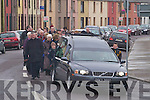 FAREWELL TO A ROCKIE: The funeral corte?ge bears Jimmy Barry on his final journey to Rath Cemetery on Monday with guards of honour provided by Austin Stacks GAA Club and Ballybeggan Park personnel.   Copyright Kerry's Eye 2008