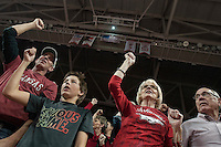 NWA Democrat-Gazette/ANTHONY REYES @NWATONYR<br /> Arkansas against Mississippi State in the second half Tuesday, Jan. 10, 2017 at Bud Walton Arena in Fayetteville. The Razorbacks lost 84-78.