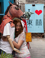 Scenes around Tianzifang on Taicang Road. Series of images looking at 'Trendy Shanghai' By Jonathan Browning.