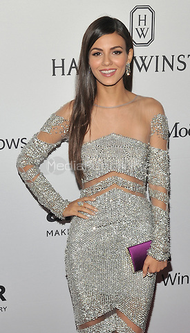 NEW YORK, NY - JUNE 9:Victoria Justice attends the 7th Annual amfAR Inspiration Gala at Skylight at Moynihan Station on June 9, 2016 in New York City.. Credit: John Palmer / MediaPunch
