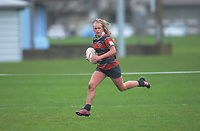 Action from the 2019 Top Four 1st XV girls' rugby semifinal between Christchurch Girls' High School and Onehunga High School at Massey University in Palmerston North, New Zealand on Friday, 6 September 2019. Photo: Dave Lintott / lintottphoto.co.nz
