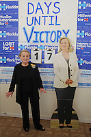 LAKE WORTH, FL - OCTOBER 22: The former Secretary of State Madeleine Albright campaigns for Democratic Presidential Candidate Hillary Clinton at the Lake Worth Coordinated Campaign Office on October 22, 2016 in Lake Worth Florida. Credit: mpi04/MediaPunch