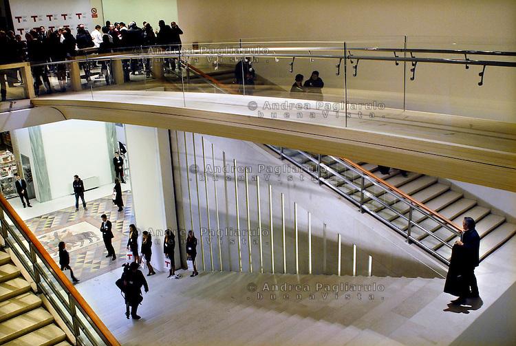 Milano, Il museo del Design alla Triennale.<br /> Milan, The Design Museum in Triennale.