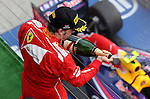 Podium - Fernando Alonso (ESP),  Scuderia Ferrari<br /> for the complete Middle East, Austria & Germany Media usage only<br />  Foto © nph / Mathis