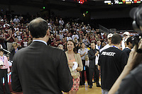 March 14, 2010.  _______ receives her game ball after the Stanford Cardinal beat the UCLA Bruins to win the 2010 Pac-10 Tournament.