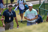 Jordan Spieth (USA) makes his way to the tee on 10 during round 4 of the WGC FedEx St. Jude Invitational, TPC Southwind, Memphis, Tennessee, USA. 7/28/2019.<br /> Picture Ken Murray / Golffile.ie<br /> <br /> All photo usage must carry mandatory copyright credit (© Golffile | Ken Murray)
