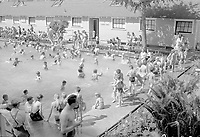 Outdoor swimming pool, Edmonton,1949