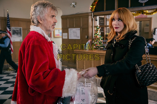 Bad Santa 2 (2016)<br /> Billy Bob Thornton stars as Willie Soke and Christina Hendricks as Diane<br /> *Filmstill - Editorial Use Only*<br /> CAP/KFS<br /> Image supplied by Capital Pictures