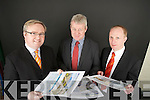 Auctioneers Paul Stephenson, Sean Walsh and Ger Caromdy