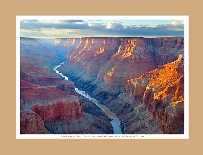 Sunset at Cape Solitude<br />