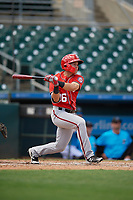 Washington Nationals Ricardo Mendez (16) at bat during an Instructional League game against the Miami Marlins on September 25, 2019 at Roger Dean Chevrolet Stadium in Jupiter, Florida.  (Mike Janes/Four Seam Images)