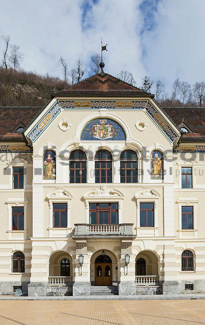 Regierung, Government, Vaduz, Rheintal, Rhine-valley, Liechtenstein.
