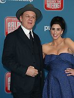 05 November 2018 - Hollywood, California - John C. Reilly, Sarah Silverman &quot;Ralph Breaks The Internet&quot; Los Angeles Premiere held at El Capitan Theater. <br /> <br /> CAP/ADM/FS<br /> &copy;FS/ADM/Capital Pictures
