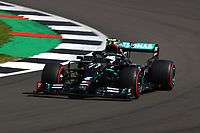 1st August 2020, Silverstone, Northampton, UK; FIA Formula One World Championship 2020, Grand Prix of Great Britain,  qualifying;  77 Valtteri Bottas FIN, Mercedes-AMG Petronas Formula One Team takes 2nd on pole
