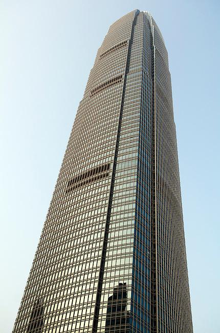Hong Kong urban scene - office building tower