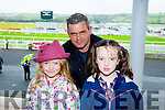 l-r  Maggie May Deenehy, Pat Deenehy and Lucy Deenehy at the Listowel Harvest Racing Festival on Sunday