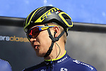 Chris Juul Jensen (IRL/DEN) Orica-Scott team on stage at sign on before the start of Gent-Wevelgem in Flanders Fields 2017, running 249km from Denieze to Wevelgem, Flanders, Belgium. 26th March 2017.<br /> Picture: Eoin Clarke | Cyclefile<br /> <br /> <br /> All photos usage must carry mandatory copyright credit (&copy; Cyclefile | Eoin Clarke)