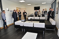Friday 18th March 2016<br /> One of the lounge areas<br /> Official opening of the Swansea City Landore Academy which includes a 3rd floor classroom, an extension and an indoor training barn