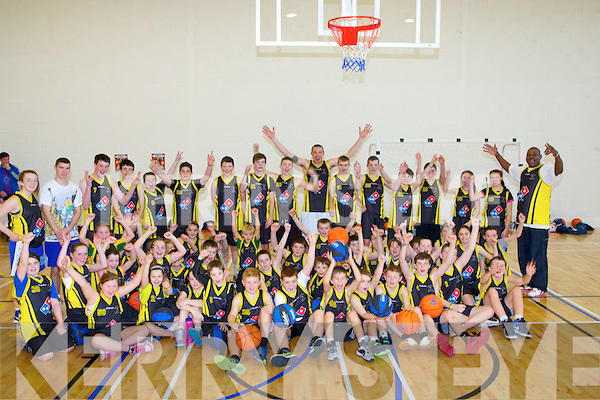 CAMP: Kieran Donaghy's BE A STAR Basketball camp came to an end on Friday and Kieran with fellow coaches presented the young basketball players with special trophy's to remind them of their camp.