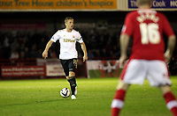 Capital One League Cup, Third Round, Crawley Town (red) V Swansea City (white) , 25/09/12. <br /> Pictured: Garry Monk makes a return to the starting lineup for the swans<br /> Picture by: Ben Wyeth / Athena Pictures<br /> info@athena-pictures.com<br /> 07763671695